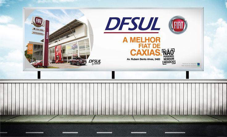 Cliente: DFSUL concessionária Caxias do Sul  Material: Outdoor Agência: BAG propaganda
