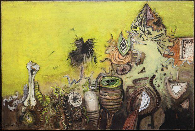 Jack Shadbolt, Festival of the Worm II, 1954-63.