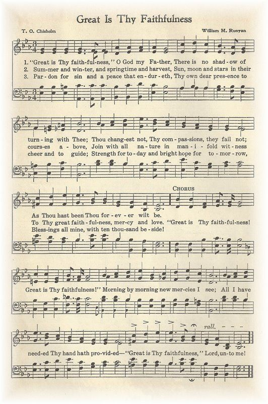 One of my favorite hymns