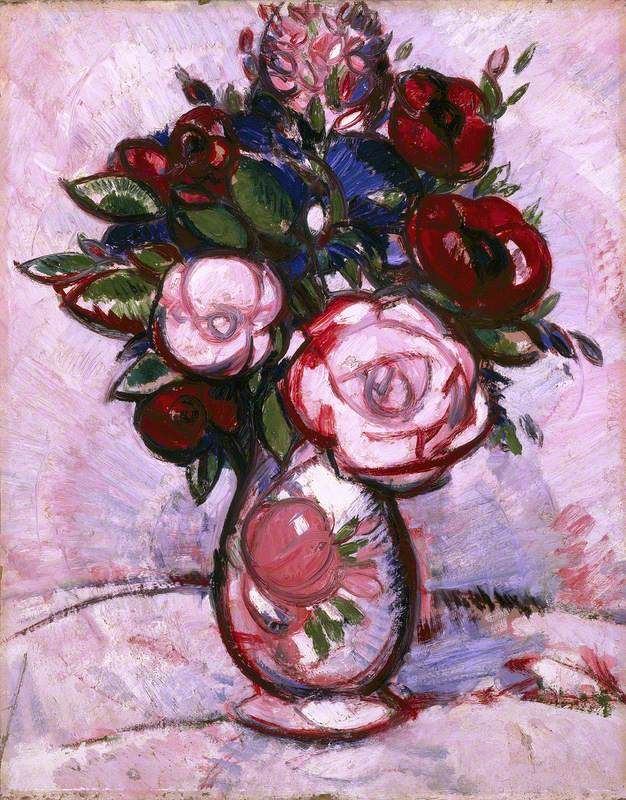 Bouquet  , by John Duncan Fergusson , 1909