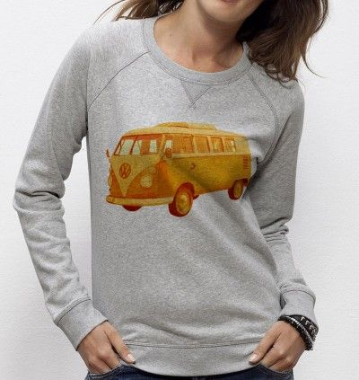 Sweatshirt Summer Ride - Madame TSHIRT x Terry Fan  -  Dispo ici : http://www.madametshirt.com/fr/sweat-shirts/1677-sweatshirt-summer-ride.html