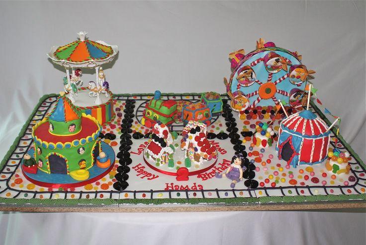 Amusement Park Cakes Amusement Park Cake Carnival