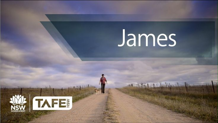 With a love of animals, James took to TAFE Western to become a Vet Nurse. Awesome :)