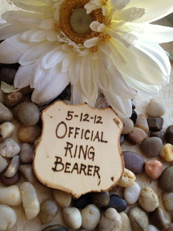 Gift for Ring Bearer Police Style Badge Official by PrinceWhitaker, $9.99