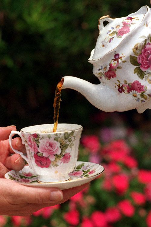 """""""Drinking Three Cups of Tea a Day May Help Lower Blood Pressure"""" - LA Times I hope this is true!"""