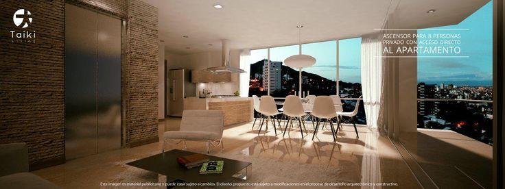 TAIKI living - Edificio en santiago de Cali - Cuatro Exclusivos Apartamentos en el oeste de la cuidad - Barrio los Cristales - la mejor vista de la ciudad de Cali.