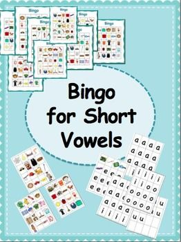 Fun way for students to practice their short vowels!