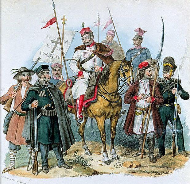 File:Polish insurgents of the November Uprising 1831.PNG