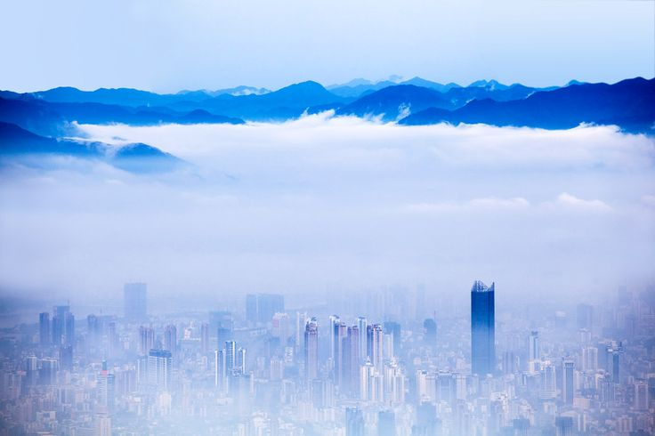 Climate change news about China's air quality standards.