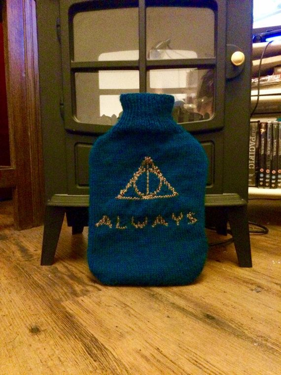 Ravenclaw Deathly Hallows Hot Water Bottle  Harry Potter