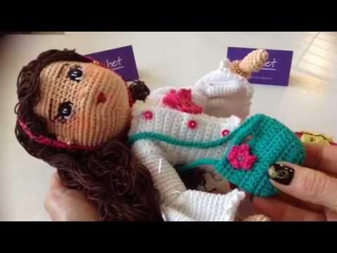 Como obtener patrón muñeca Camila amigurumi By Petus - YouTube