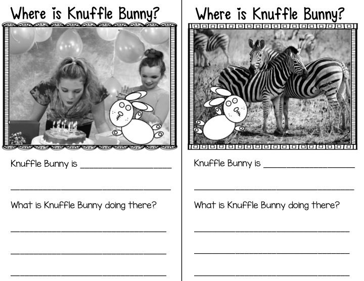 Knuffle Bunny Book Study Unit                                                                                                                                                     More
