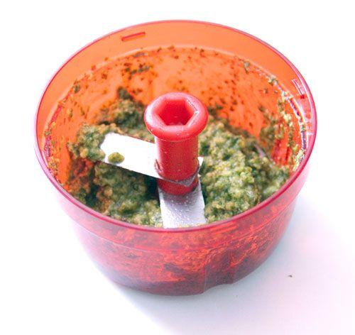 Pesto de Roquette (avec TurboTup Tupperware ou sans) - Recette de Cuisine ~ Mademoiselle Cuisine : recettes, astuces, actu cuisine