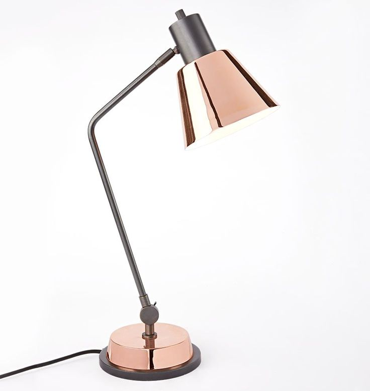 Cylinder Task Table Lamp - ELLEDecor.com