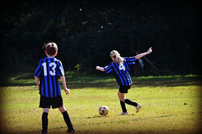 All the gory details of my life as a soccer mum.