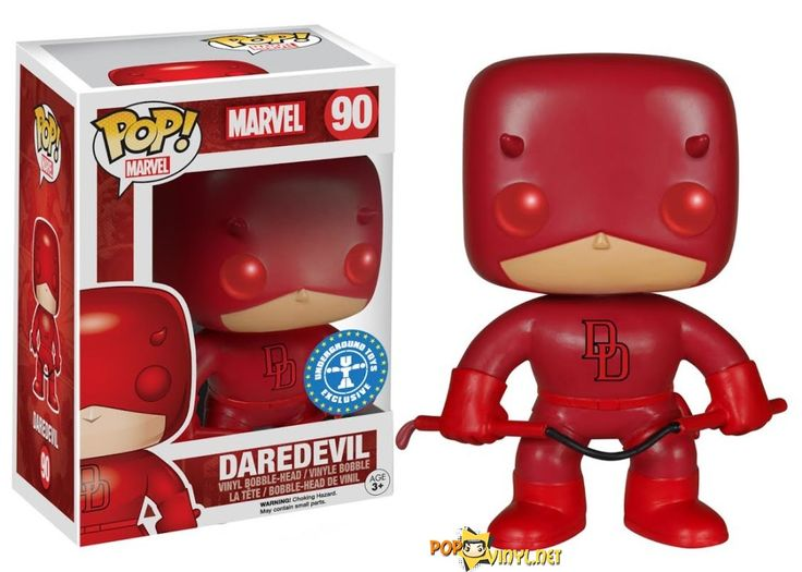 red Daredevil Pop Vinyls