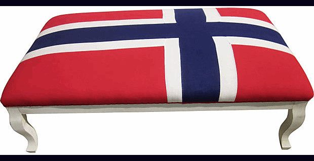 Norwegian Flag furniture