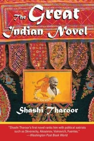 The Great Indian Novel (1989) by Shashi Tharoor This is satire at its best. Take the Mahabharat, insert the Indian freedom movement and all that followed over the next few decades. Add some puns. The result is a great Indian novel: The Great Indian Novel -  Read our interview with Shashi Tharoor here - http://read.ht/fsb