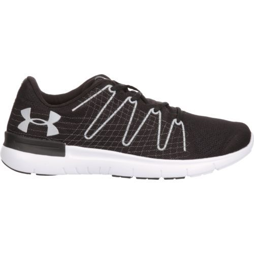 Under Armour Men's Thrill 3 Running Shoes (Black/White, Size 7) - Men's Running Shoes at Academy Sports