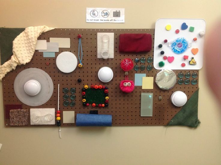Teach.Love.Autism: Sensory: Tactile Board... made from mostly cheap and free items!