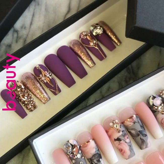 The New York Shop Thenewyorkshop110 Instagram Photos And Videos Nail Designs In 2019 Pinterest Nails Nail Designs And Acrylic Nails Luxury Nails Glamorous Nails Coffin Nails Designs