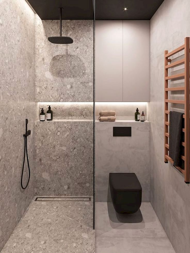 If You Have A Super Small Bathroom Trying To Make Everything Fit In The Available Space Small Bathroom Makeover Bathroom Design Small Bathroom Interior Design