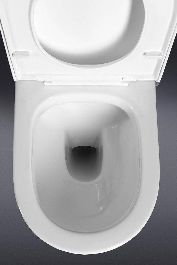 TALIN WC kombi mísa s nádržkou včetně PP sedátka, spodní/zadní odpad, SAPHO E-shop