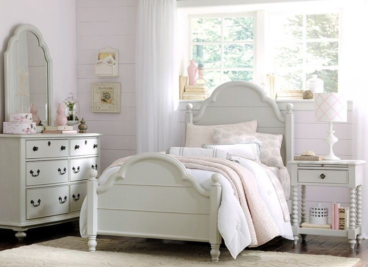 Create a dream-worthy escape with the Wendy platform bedroom set. With details like louvered panels, decorative molding, and custom-designed drawer pulls, this bedroom set is designed to inspire sweet memories for years to come.