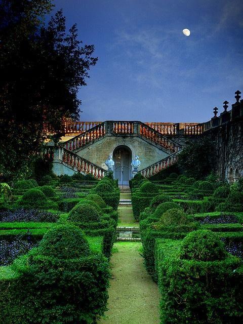 The enchanting Moongarden in Barcelona, Spain.
