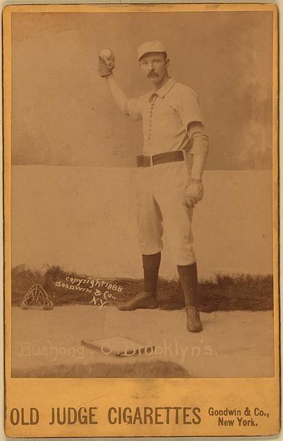 Doc Bushong, Brooklyn Trolley-Dodgers, 1888