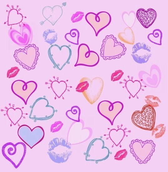 typography hearts meli schreiber - photo #1