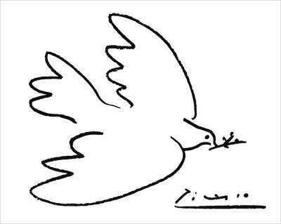 Pablo Picasso - la colombe de la paix