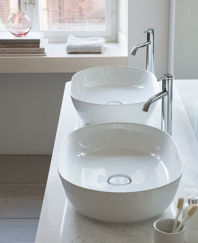 Designer bathroom brand Duravit is embracing the concept of 'less is more' with its new Scandinavian-inspired collection of washbasins, bathtubs, and bathroom furniture. Created by designer Cecilie Ma
