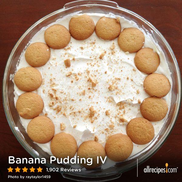 Banana Pudding IV | A quick and easy banana pudding recipe - enjoy!