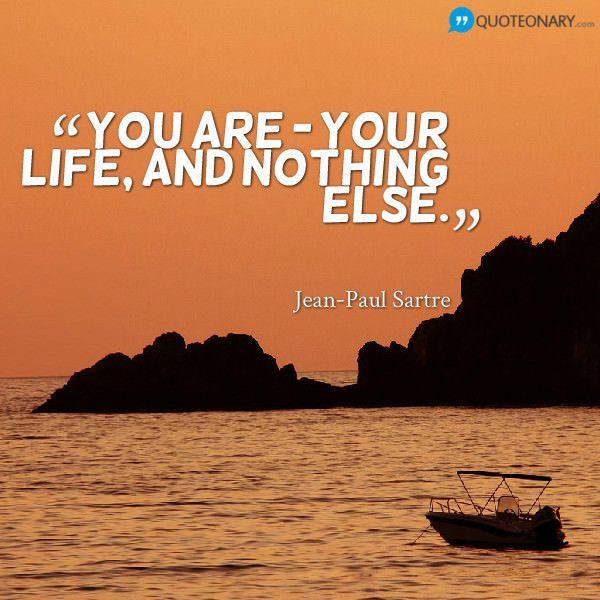 Jean-Paul Sartre #quote
