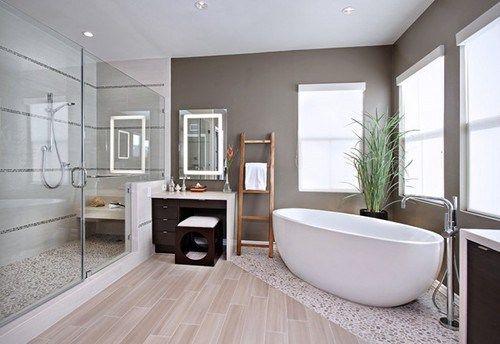 bathroom pebble