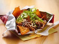 Taco in a Bag dorm food