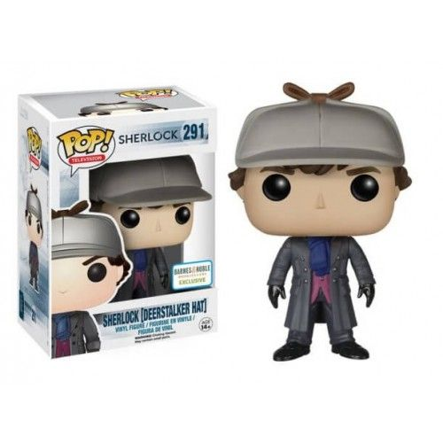 Funko Pop! Sherlock Deerstalker Hat, Barnes & Noble Exclusive, Sherlock, Funkomania, Séries
