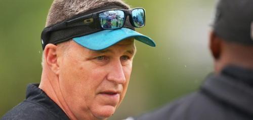 Jacksonville Jaguars coach Doug Marrone still has not spoken to newly acquired offensive tackle Branden Albert.