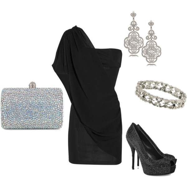 Hot!: Date Night, Holidays Parties, Parties Outfits, Casual Summer Outfits, Christmas Outfits, One Shoulder, Little Black Dresses, The Dresses, New Years