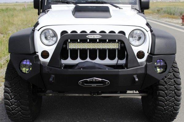 Front Bumper > Jeep Wrangler JK << Rock-Slide Engineering Rock-Slide Engineering