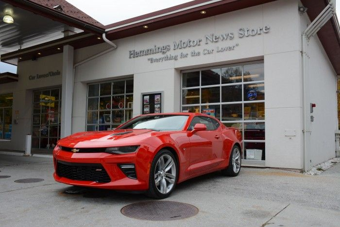 The 2016 Chevrolet Camaro 1SS visits Hemmings
