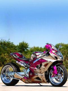 Hayabusa  Love this bike. Takot ako sa motor pero dahil kay Acheron naging fave ko to and someday gusto ko magkarun nito. :-)