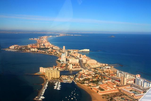 La Manga del Mar Menor, Spain