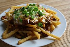 Chili Cheese Fries Recipe. People would go crazy for these at a party!