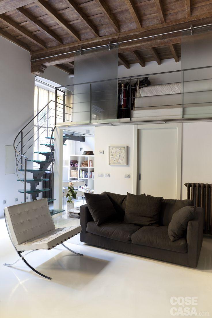 Oltre 25 fantastiche idee su camere soppalco su pinterest - Monolocale con letto a soppalco ...