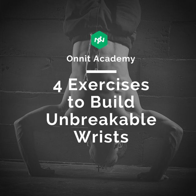 We live in a world where our hands and wrists become more used to typing and scrolling than gripping and ripping! That's why when people start to do more unorthodox exercise training such as handstands and crawling, they may experience wrist strains and pains.