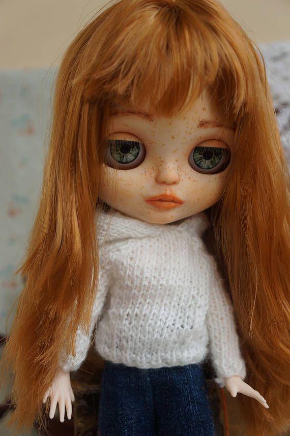 Marie Blythe doll Blythe OOAK Custom Blythe Custom doll