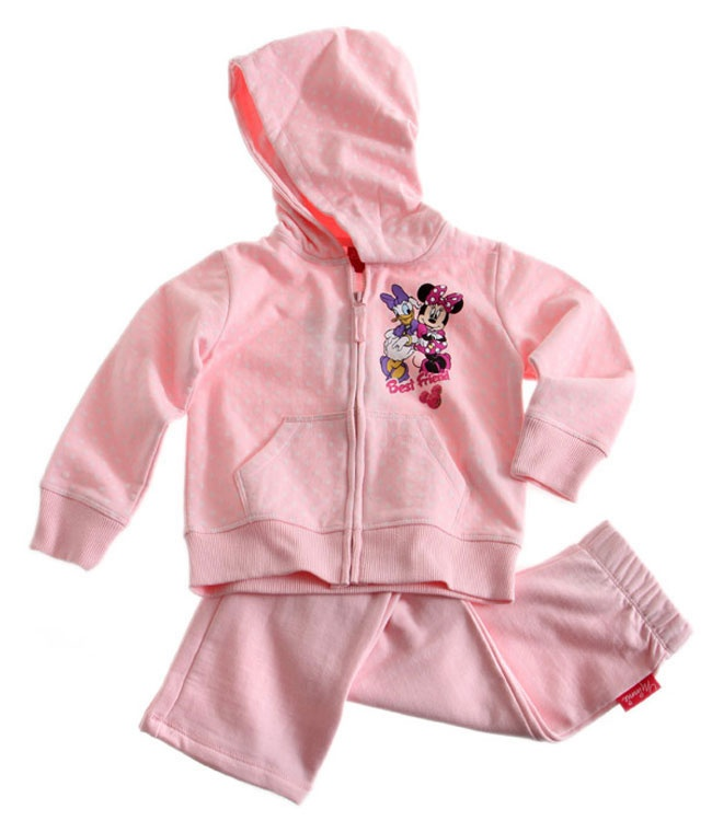 Ensemble jogging Disney Classic Daisy Minnie rose Survetement Enfant Fille par UnCadeauUnSourire.com