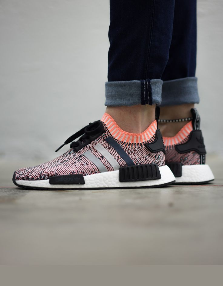 The adidas NMD R1 Primeknit Dons A Solid Grey Upper KicksOnFire